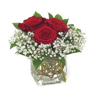 """Three's a Charm"" flower bouquet from Ingallina's"